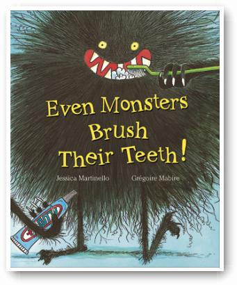 Even Monsters Brush Their Teeth