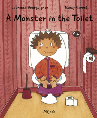A monster in the toilet
