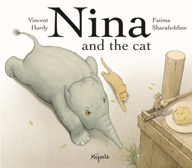 Nina and the cat